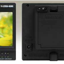 The Marshall 5″ LCD50 HDMI Portable Field Monitor: