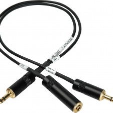 AGC Disable Y-Splitter Cable for Canon 7D & 550D / T2i Cameras: