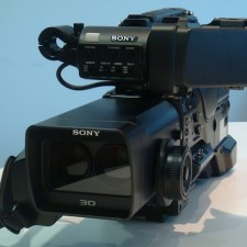 Sony Twin Lens Shoulder Mount 3D ENG Camera:
