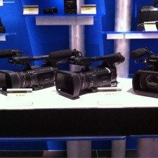 NAB Panasonic AG-3DP1 P2 HD 3D & The AG-AC160, AG-AC130 Cameras: