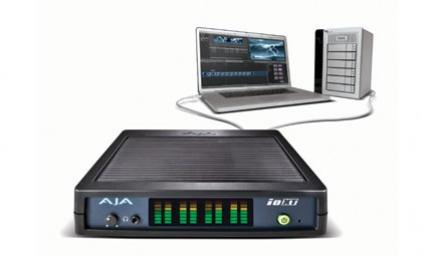 AJA Io XT, a Thunderbolt Enabled Pro Video I/O Device: