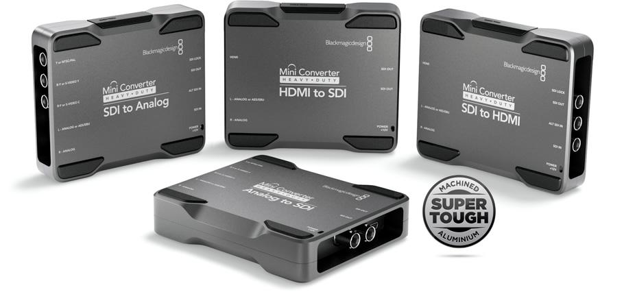 Blackmagic Design Heavy Duty Mini Converter: