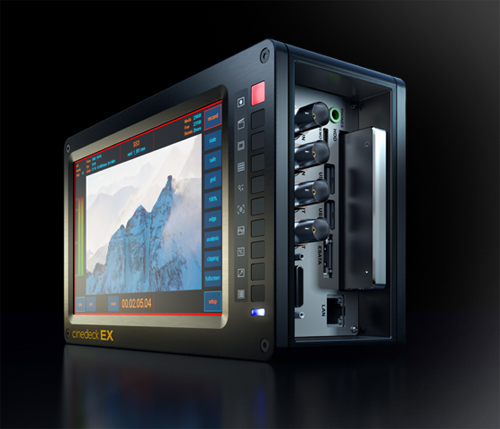 Cinedeck EX Cinema Grade Camera Recording Monitoring & Playback Device: