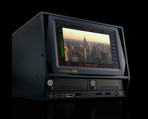 Cinedeck RX Multi Format/Channel, Recorder, Monitor & Playback: