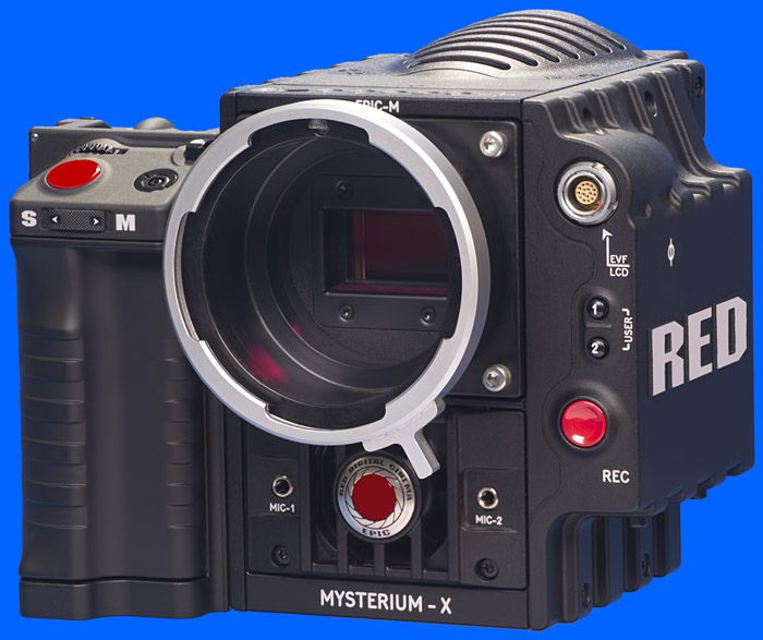 Cinemods Oct19 Mount for the RED EPIC Camera: