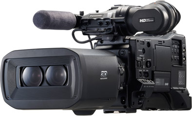 Launch Date for Panasonic AG-3DP1 3D P2 HD Camera: