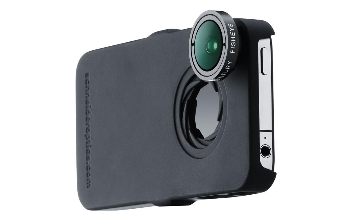 $199 Schneider Optics iPro Lens System For the iPhone 4: