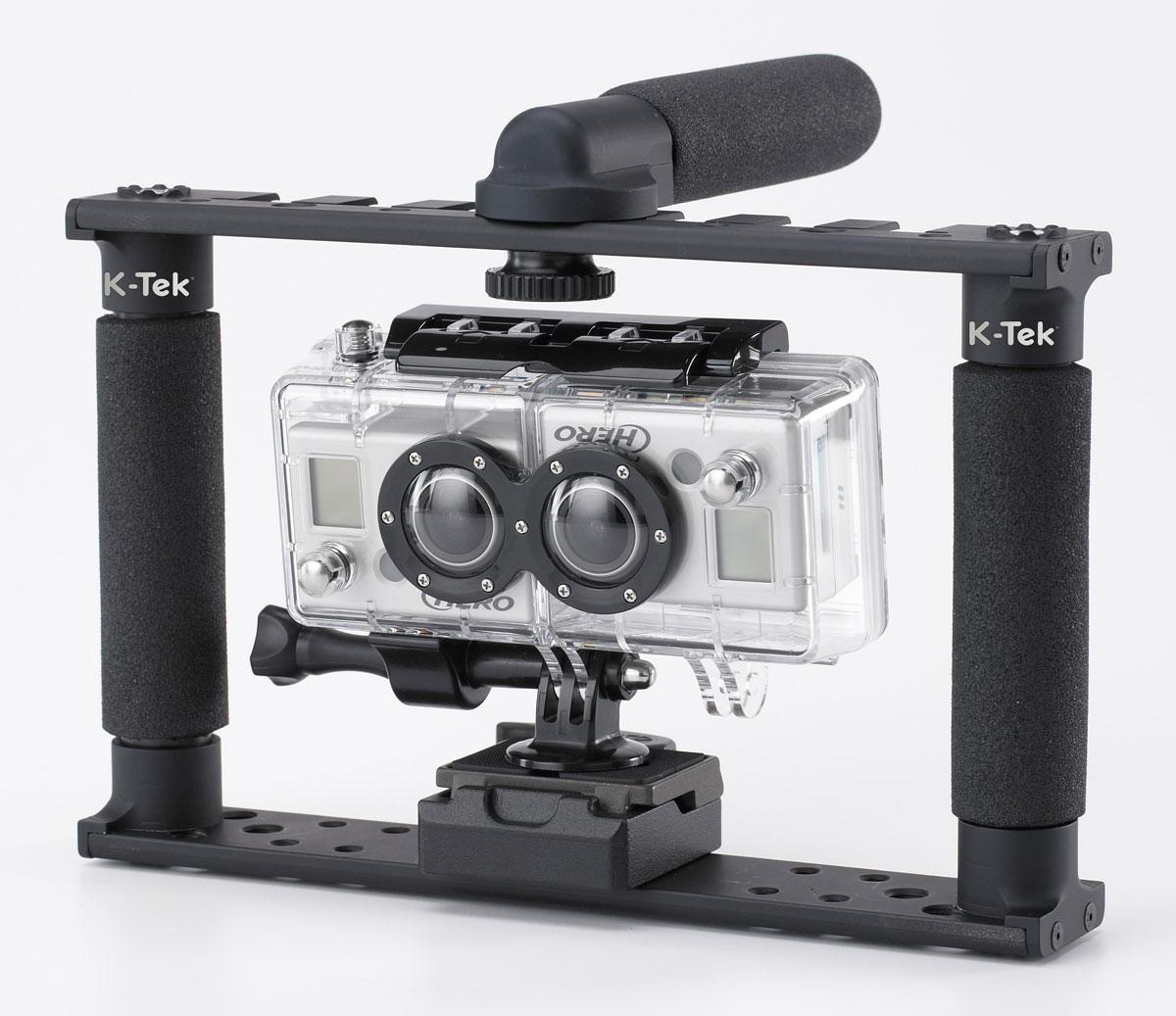 K-Tek Norbert Sport Jr: Suits GoPro & iPhone Shooting:
