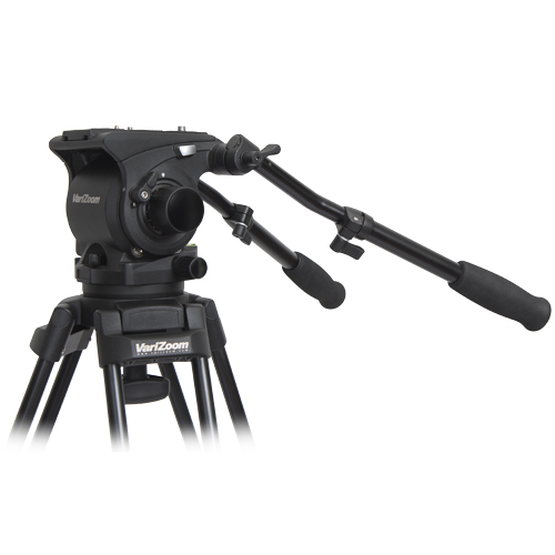 The $800 100mm VariZoom VZ-FH100 Fluid Head Tripod: