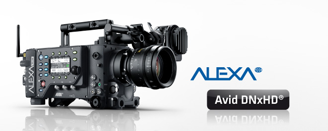 ARRI Alexa Now Has in Camera Support for Avid DNxHD Codec: