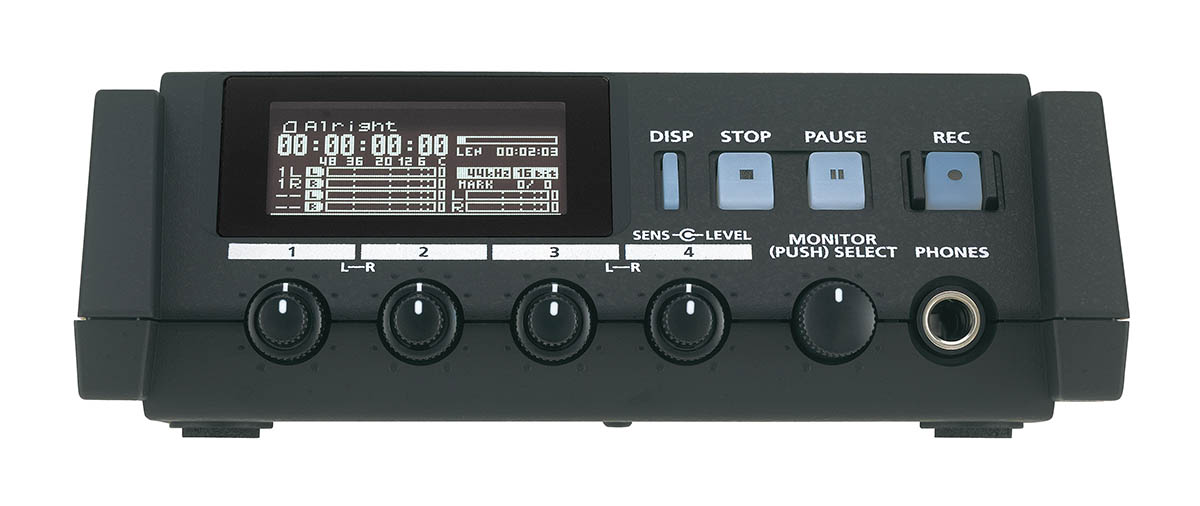 Roland R-44 Solid State Four Channel Audio Field Recorder: