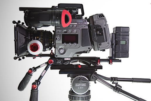 First Shoulder Rig for the Sony F65 Camera by SHɅPE: