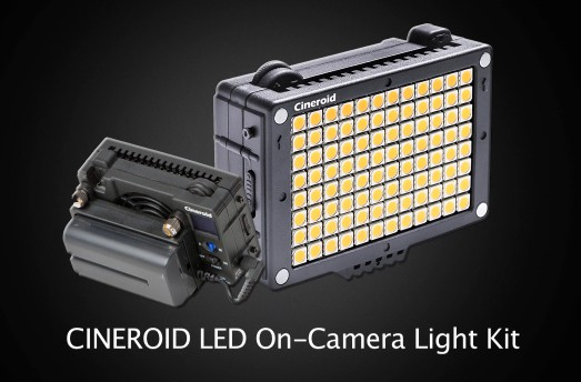 Cineroid on Camera L10C LED Light Review: