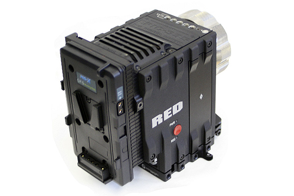 Quick Release and Power Solution Plate for the RED EPIC Camera: