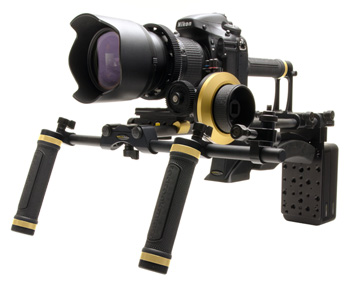 Limited Edition Nikon Gold Field Cinema V2 Rig from Redrock Micro: