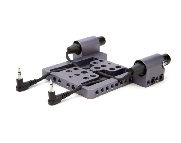 Fortis RED EPIC Scarlet Baseplate & Top Plate with XLR Inputs: