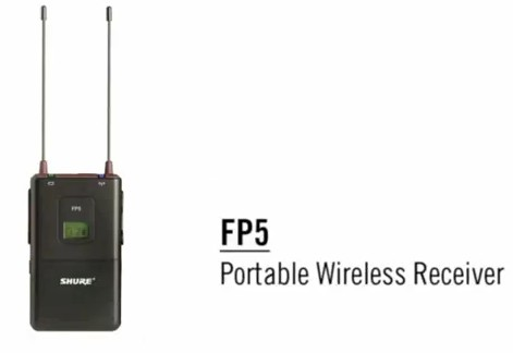 Shure FP Wireless System: