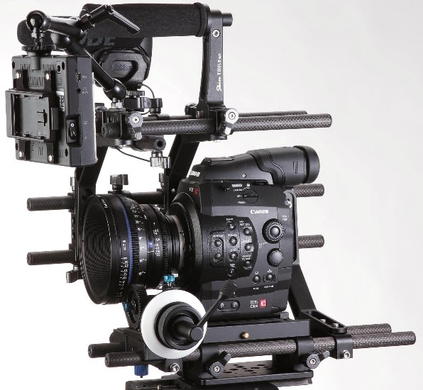 SKIER PRO Canon C300 Camera Rig and Beyond: