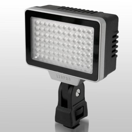 LedPro Z6 and Z9 Tunable Bi-Colour on Camera Lights: