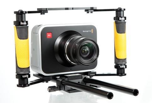 ikan ELEMENTS BlackFly Camera Rig at Home With The BMCC:
