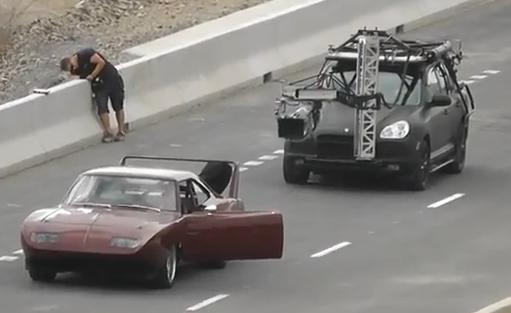 Fast and Furious 6 Camera Car IV