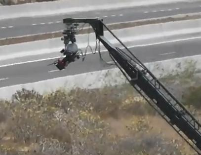 Fast and Furious 6 Camera Crane