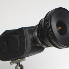 Digital Bolex Lens Mount in Either Old School C-Mount Turret or Passive EF: