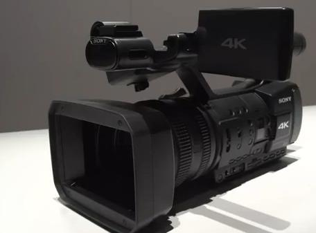 Sony 4K Concept Prosumer Camera