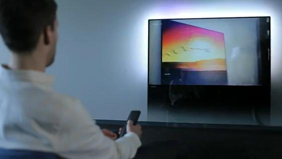 Philips DesignLine TV Is Just a Sheet of Glass: