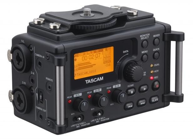 Tascam DR-60D Audio Recorder Plus Mixer Made For DSLR Cameras:
