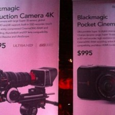 Blackmagic 4K Production Camera For 4K and Pocket Cinema Camera Leaked: