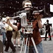 MYT Velvet Nodal Friction Tripod Camera Head Prototype:
