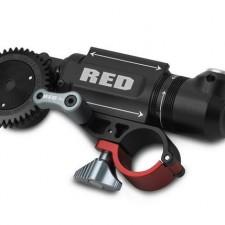RED Lens Motor and DSMC FAN 2.0 plus Shorter Quickplate V-Lock Battery Adapter: