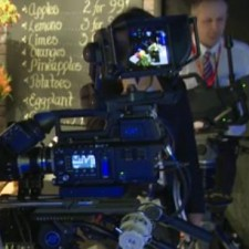 Sony F55 Studio Camera and That Is 4K Broadcasting Right There:
