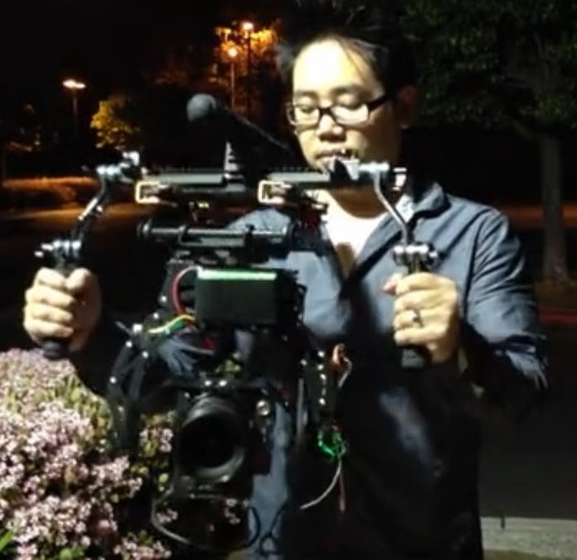 OH Dear a RED EPIC Rocking It On an RC Hand Held Camera Rig:
