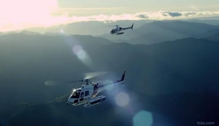 Beautiful RED EPIC Helicopter View Of New Zealand:
