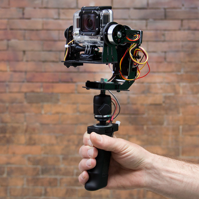 The STABiLGO Rig Lets You Stabilize Your GoPro Camera: