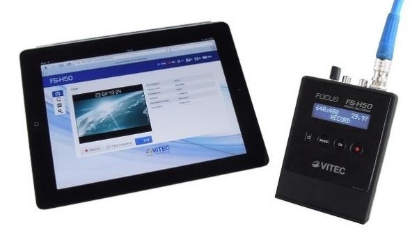 VITEC Focus FS-H50 Proxy Recorder Is Now Shipping: