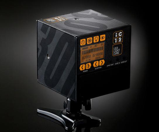 The IC12 Led Light Cube For Video and Stills: