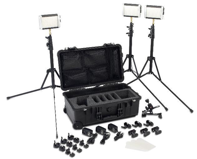 Litepanels Croma Lights Flight Kit: