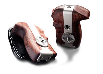 Movcam Wooden Handle Grips For Your Camera: