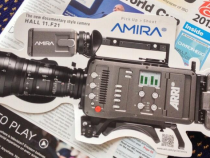 ARRI Amira Documentary Shoulder Camera at IBC Sneak Peek: