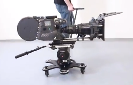 CamDolly Camera Dolly and Slider System handles DSLR Cameras Right Up To Large RED and ARRI Cameras: