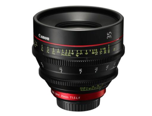 Canon Drops The CN-E35mm T1.5 L F Lens for Single-Sensor 35mm Cameras: