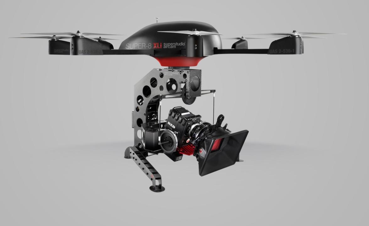The $30,000 Super-8 XLi Aerial Camera Rig: