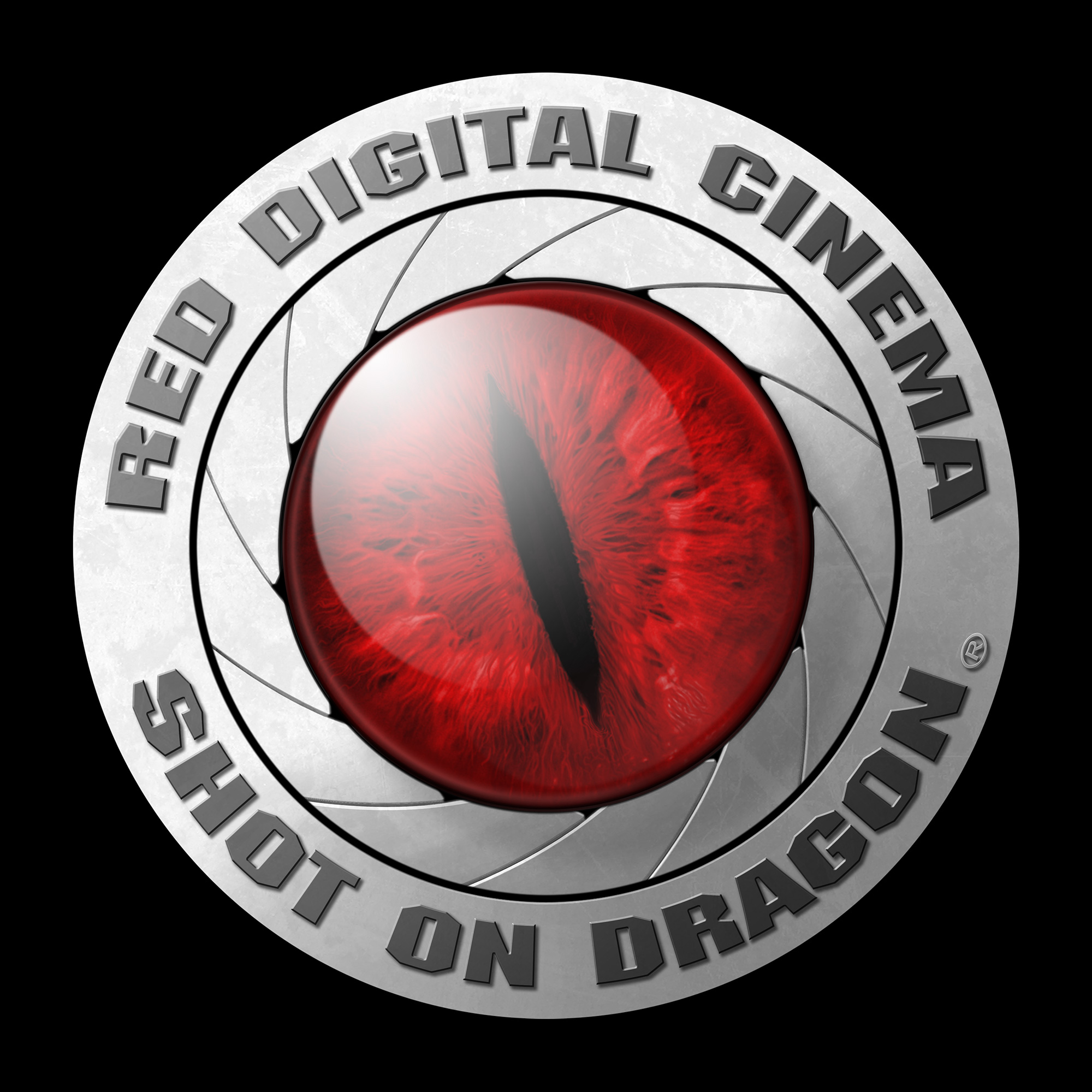 Shot on RED Dragon Logo: