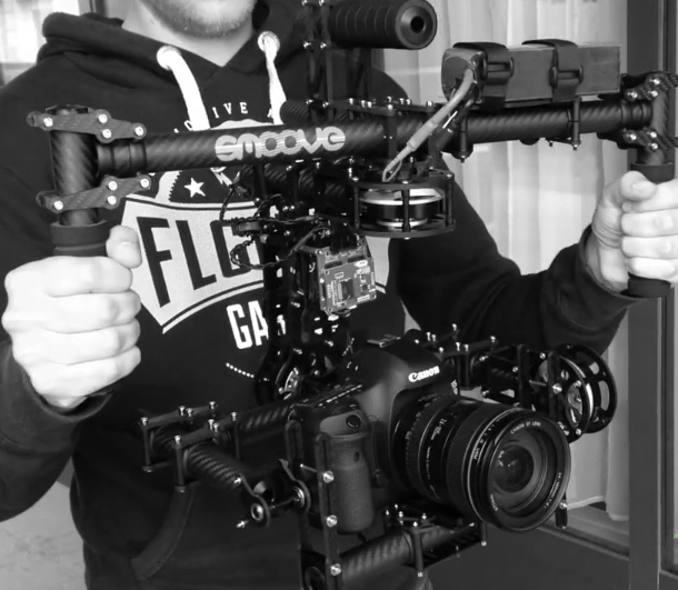 Smoove Rock Digimove DIY Runner: They Are All Brushless Gimbal Camera Rigs: