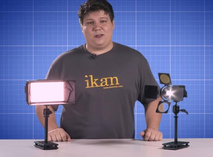 ikan On Camera Lighting Solutions: