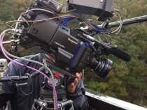 Ikegami UnicamHD HDK-97ARRI Camera Shooting Outdoors: