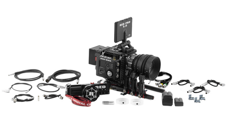 RED 3-axis Lens Control System: